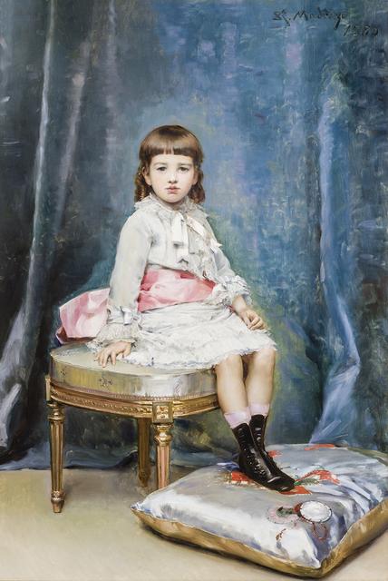 , 'Portrait of Gertrude Vanderbilt,' 1880, Hirschl & Adler Galleries