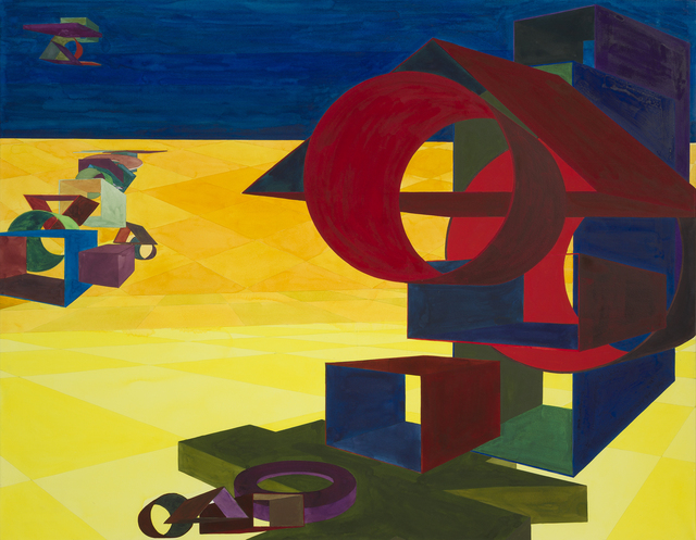 , 'Plaza IV,' 1993, Al Held Foundation