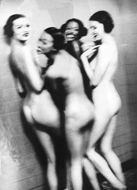 , 'Four Girls in a Shower,' 1994, Undercurrent Projects