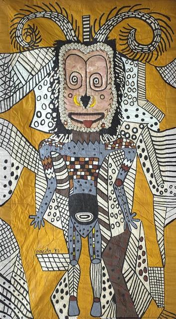 , 'Hagen man,' 1983, Pacita Abad Art Estate