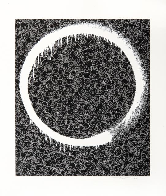 Takashi Murakami, 'Enso: Facing The Pitch-Black Void', 2018, Tate Ward Auctions