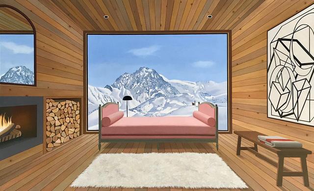 Tom McKinley, 'French Mountain Interior', 2018, Berggruen Gallery