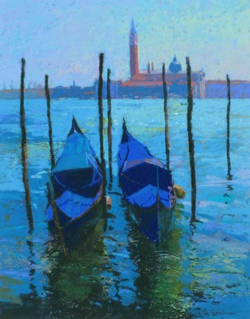 , 'Moorings at  San Marco,' 2014, Mall Galleries