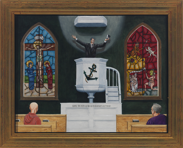 , 'Moby Dick: The Sermon,' 2010, Alida Anderson Art Projects