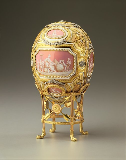 House of Fabergé, 'Catherine the Great Easter Egg', 1914, Hillwood Estate, Museum & Gardens