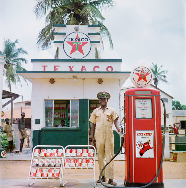 , 'Texaco Station, Togo ,' 1958, Todd Webb Archive