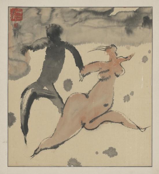 , 'The Tibet Series X 西藏组画之十,' 1984, Ink Studio