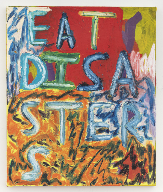 , 'Eat Disasters,' 2018, Freight + Volume