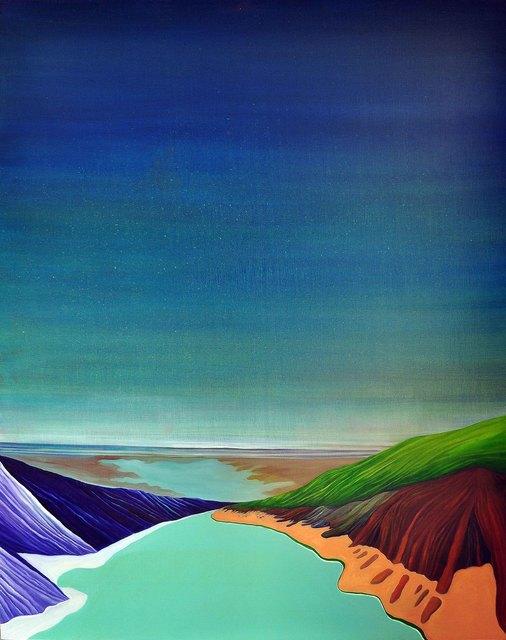 , 'Deep-Blue Sky,' 2014, Um Gallery