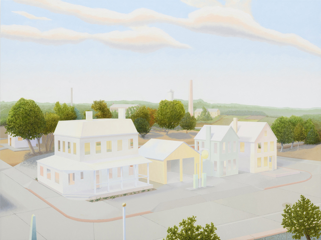 , 'The Edge of Town,' 2018, Lora Schlesinger Gallery