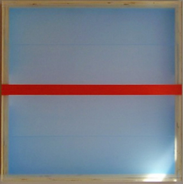 , 'Divided Light (Vermillion),' 2008, Winston Wächter Fine Art