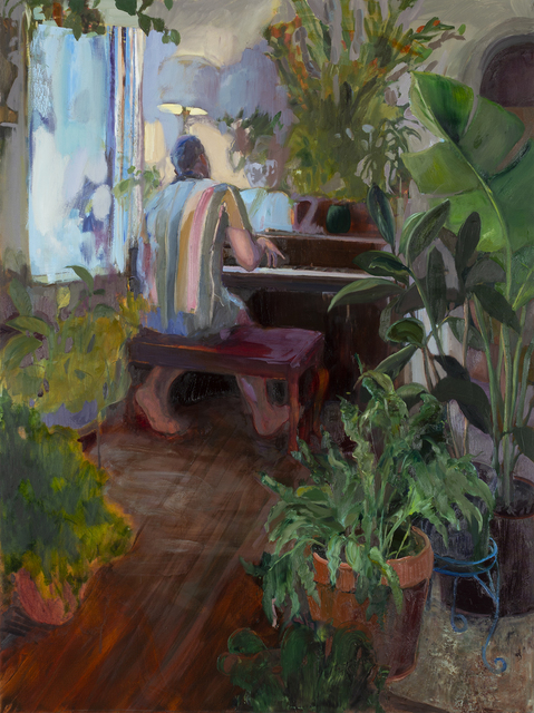 Emily LaCour, 'The Treehouse', 2021, Painting, Oil on canvas, Valley House Gallery & Sculpture Garden