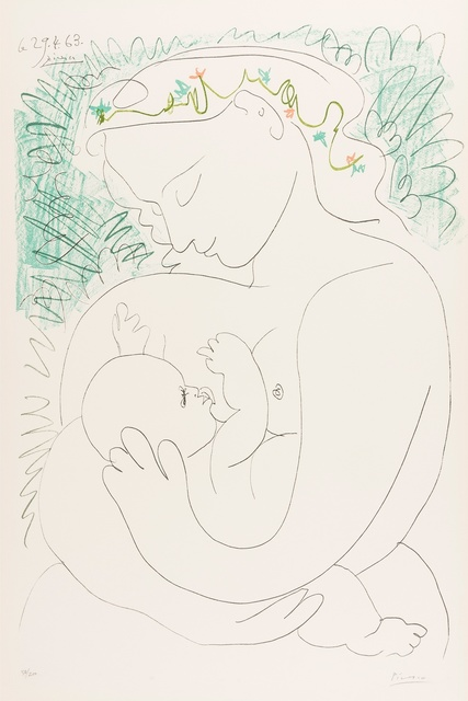 Pablo Picasso, 'Grand Maternite', 1963, Forum Auctions