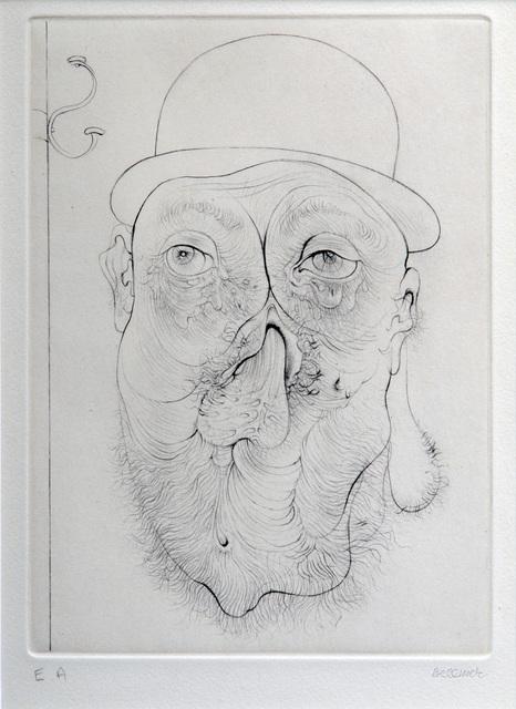 , 'A Sade #5,' 1961, Hieronymus