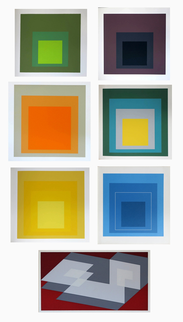 , '32 prints as illustrated in a collection of  7 exhibition catalogues,' 1964-1970, Alternate Projects
