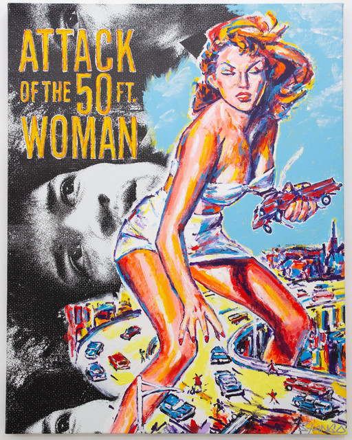 John Stango, 'Attack of the 50 foot Woman ', ca. 2018, The Compound Gallery