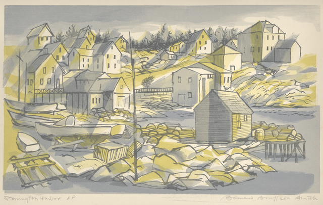 , 'Stonington Harbor [Maine],' 1954, Childs Gallery
