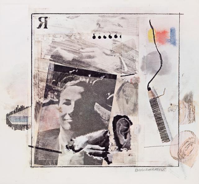 Robert Rauschenberg, 'Dwan Gallery Poster', 1965, Print, Offset lithograph, Hindman