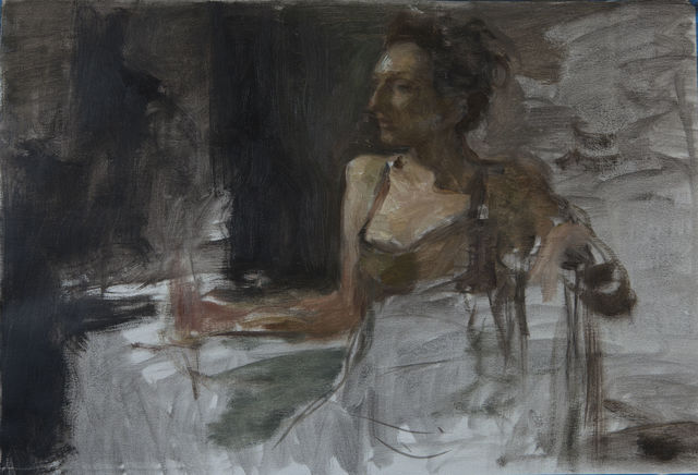 , 'Figure in Chair Study,' , Gallery 1261