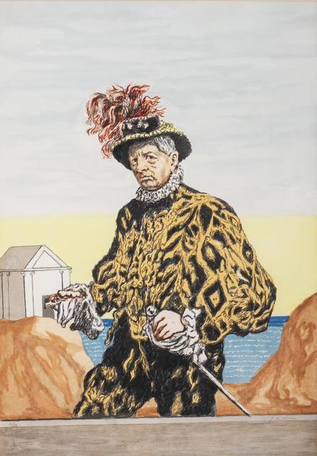 Giorgio de Chirico, 'Autoritratto', 1972, Itineris