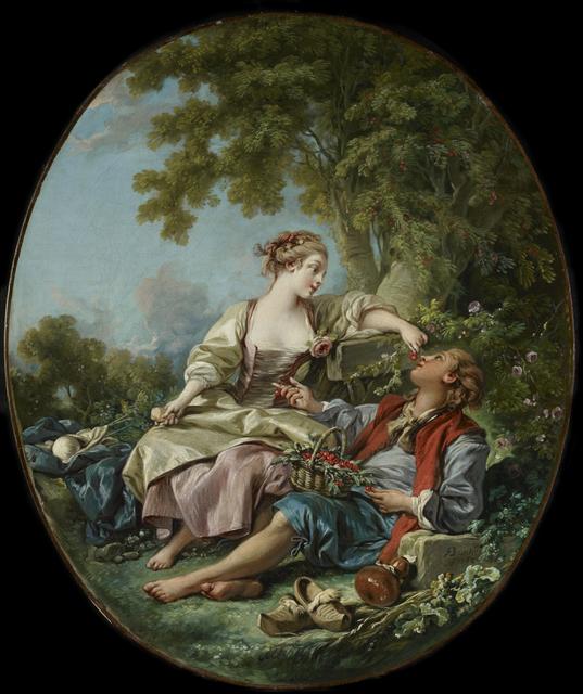 François Boucher, 'The Wooden Shoes (Les Sabots)', 1768, Art Gallery of Ontario (AGO)