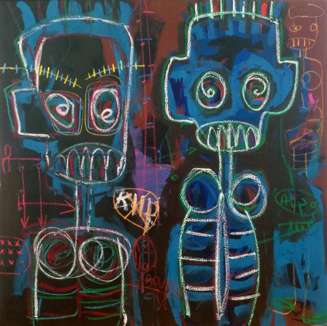 , 'Deux môgôs,' 2018, Galerie Cécile Fakhoury - Abidjan