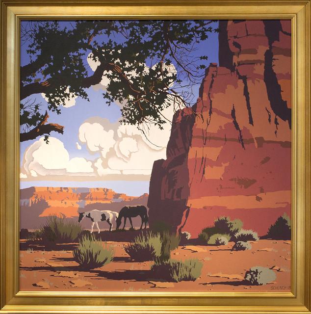 , 'Chimney Rock Canyon,' 2018, Blue Rain Gallery