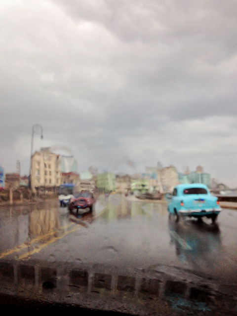 , 'AbstractCuba Series 'Havana in the Rain',' 2015, Piramid Sanat