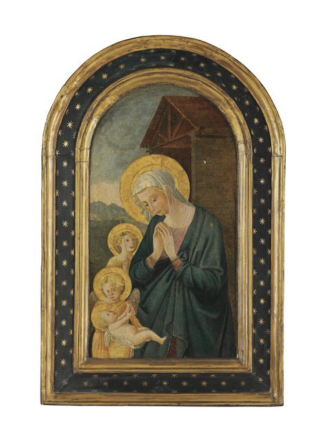, 'The Madonna and Child with Saint John the Baptist and an angel,' , Christie's Old Masters