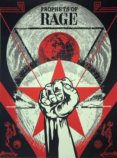 Shepard Fairey (OBEY), 'Prophets Of Rage ', 2017, New Union Gallery