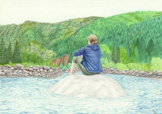 , 'The lake,' 2017, Kolja Kramer Fine Arts