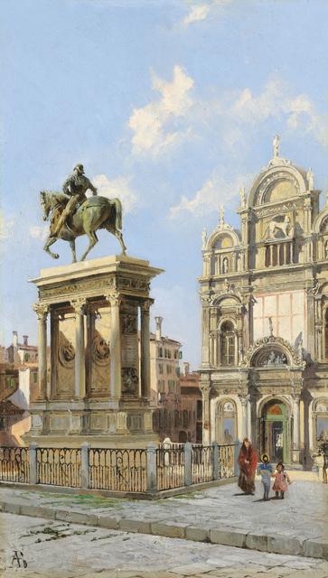 , 'Scuola Grande di San Marco, Venice,' ca. 1890, Galerie Kovacek