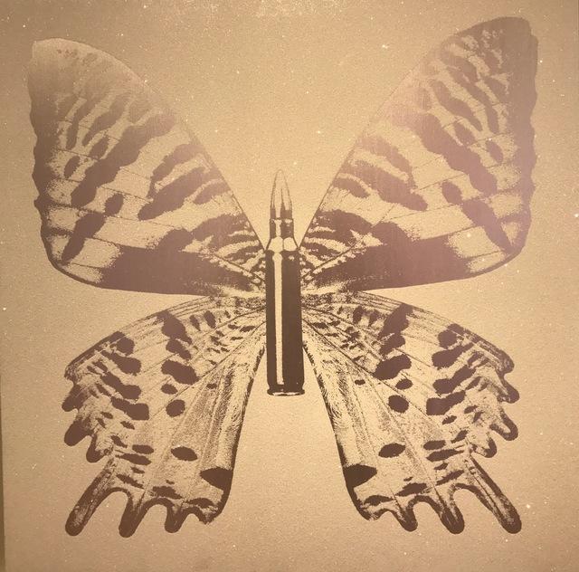 , 'Silver Butterfly III on White,' 2015, Octavia Art Gallery