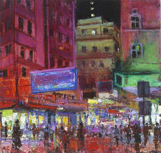 , 'Portland Street, Hong Kong,' 2015, John Martin Gallery