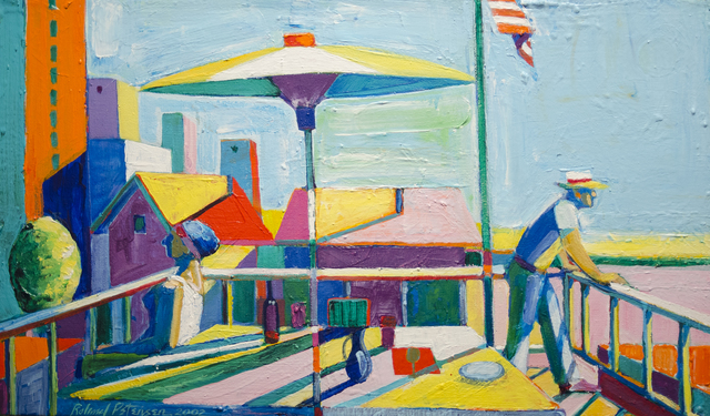 , 'The Terrace with Flag,' 2002, Studio Shop Gallery