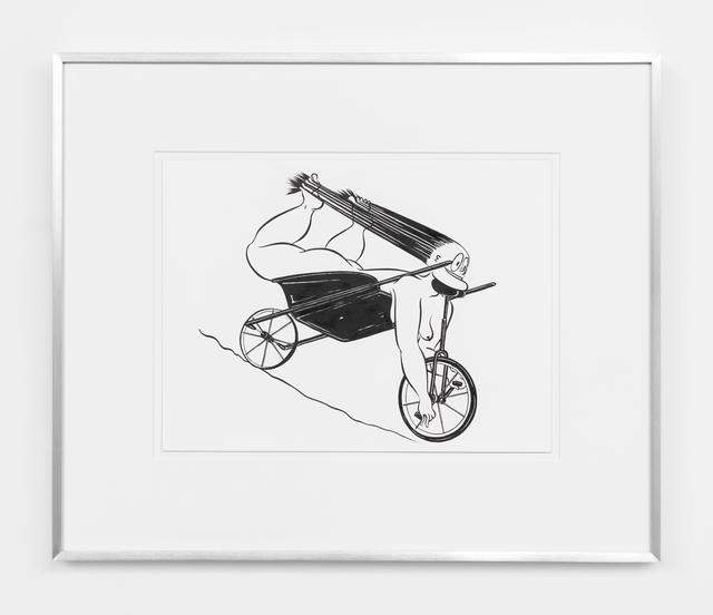 , 'Fatebe Wheelbarrow Unicycle,' 2017, Magenta Plains