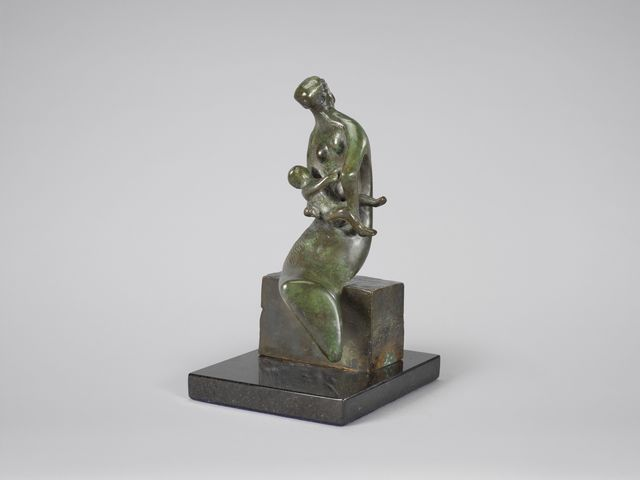 , 'Maquette for 'Curved Mother and Child',' 1980, DICKINSON