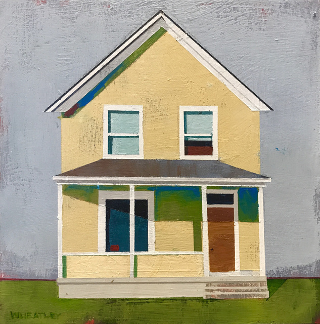 , 'House on Almond Street,' 2018, Abend Gallery