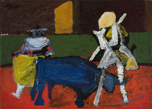 , 'Bullfight in Mexico,' 1937, Allan Stone Projects