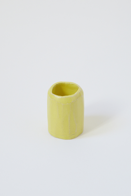 , 'Cup 4. (small yellow),' 2017, Ani Molnár Gallery