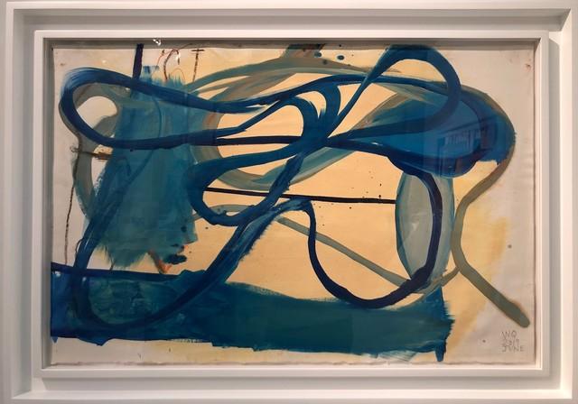 , 'Blue,' 2019, AB Gallery NY