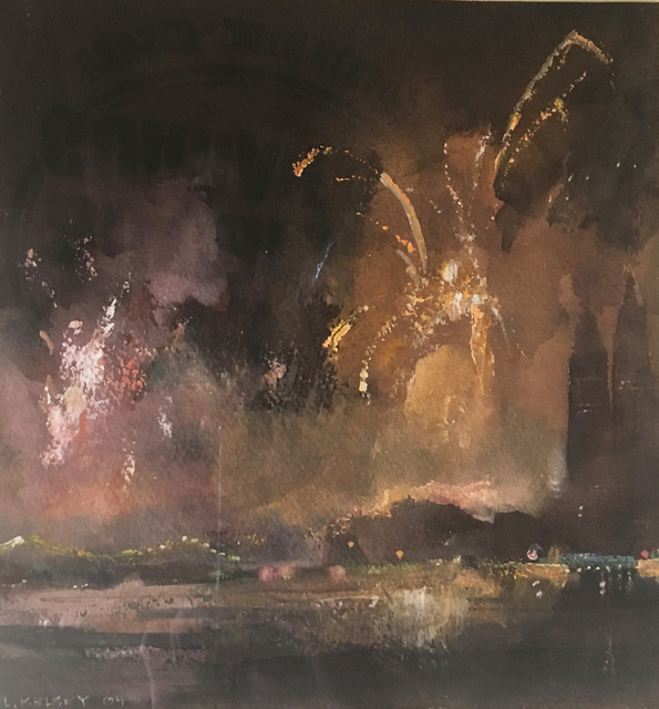 , '4th July & Fireworks,' 2004, Madelyn Jordon Fine Art