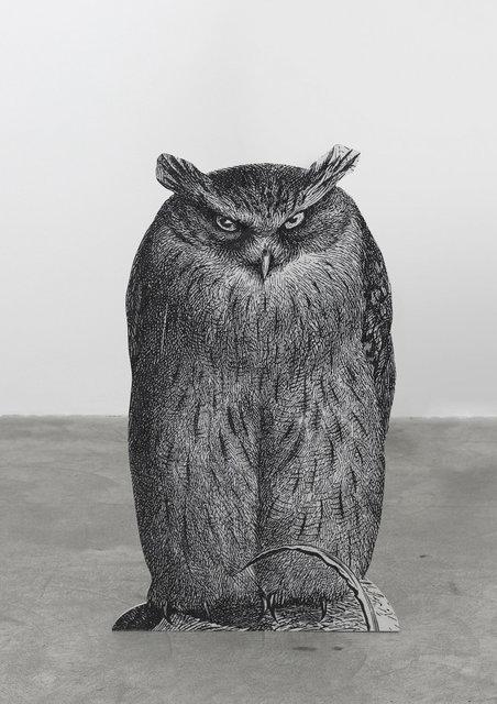, 'The Owl,' 2014, Galerie Martin Janda