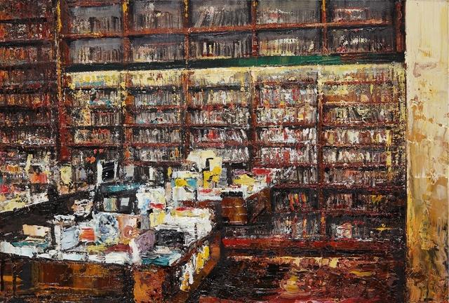 , 'Bookstore,' 2013, Galleria Russo