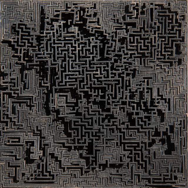 Jared Tarbell, 'BLACK MAZE', 2019, Gallery Fritz