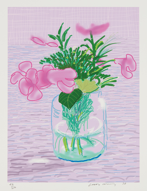 David Hockney, 'Untitled (iPad drawing), from A Bigger Book, Art Edition A', 2010/2016, Phillips