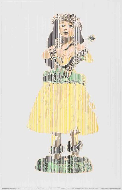 , 'Hawaiian Girl with Ukelele Bobble, Perceive-Conceive Series (Ed. of 11),' 2013, Aicon Gallery