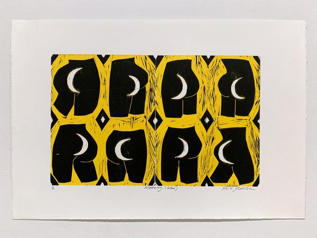 , 'Mooning (Yellow),' 2019, Denny Dimin Gallery