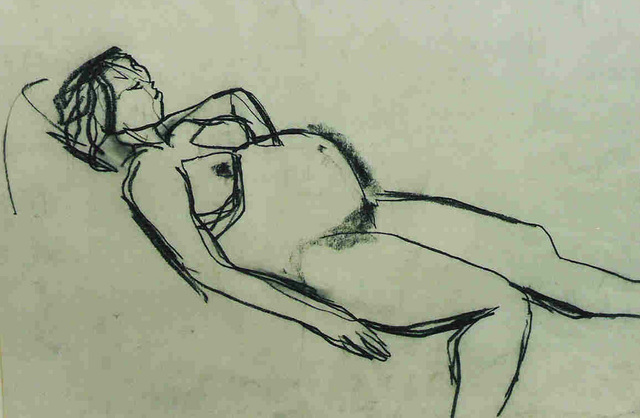 , 'Pregnant Nude,' , Cyril Gerber Fine Art/ Compass Gallery