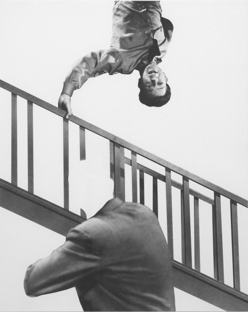 , 'Stairway, Coat and Person,' 2011, Richard Levy Gallery
